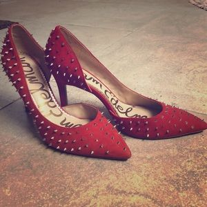 Red Sam Edelman Pumps
